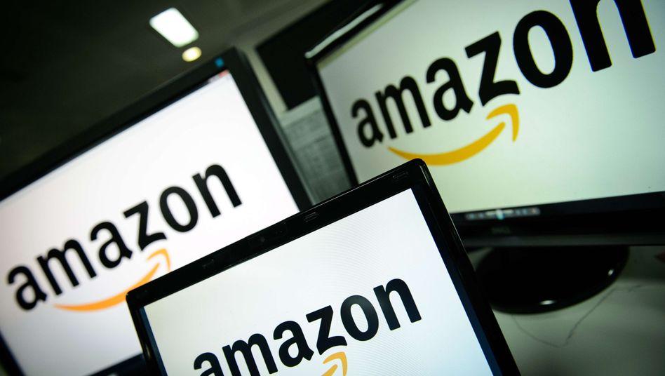 Amazon-Logo: Der Online-Händler beherrscht den E-Book-Markt in Europa