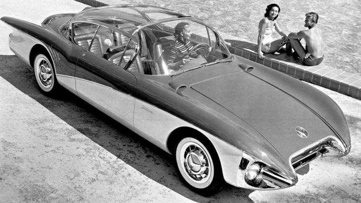 Buick Centurion Concept - Zukunft rot-weiß