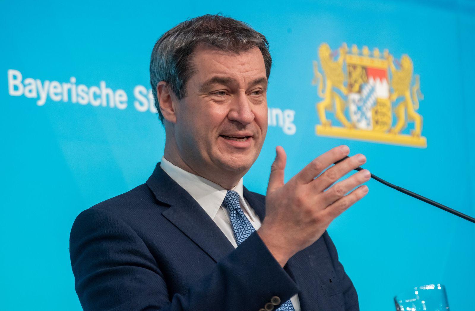 Coronavirus - Bayern Kabinettssitzung