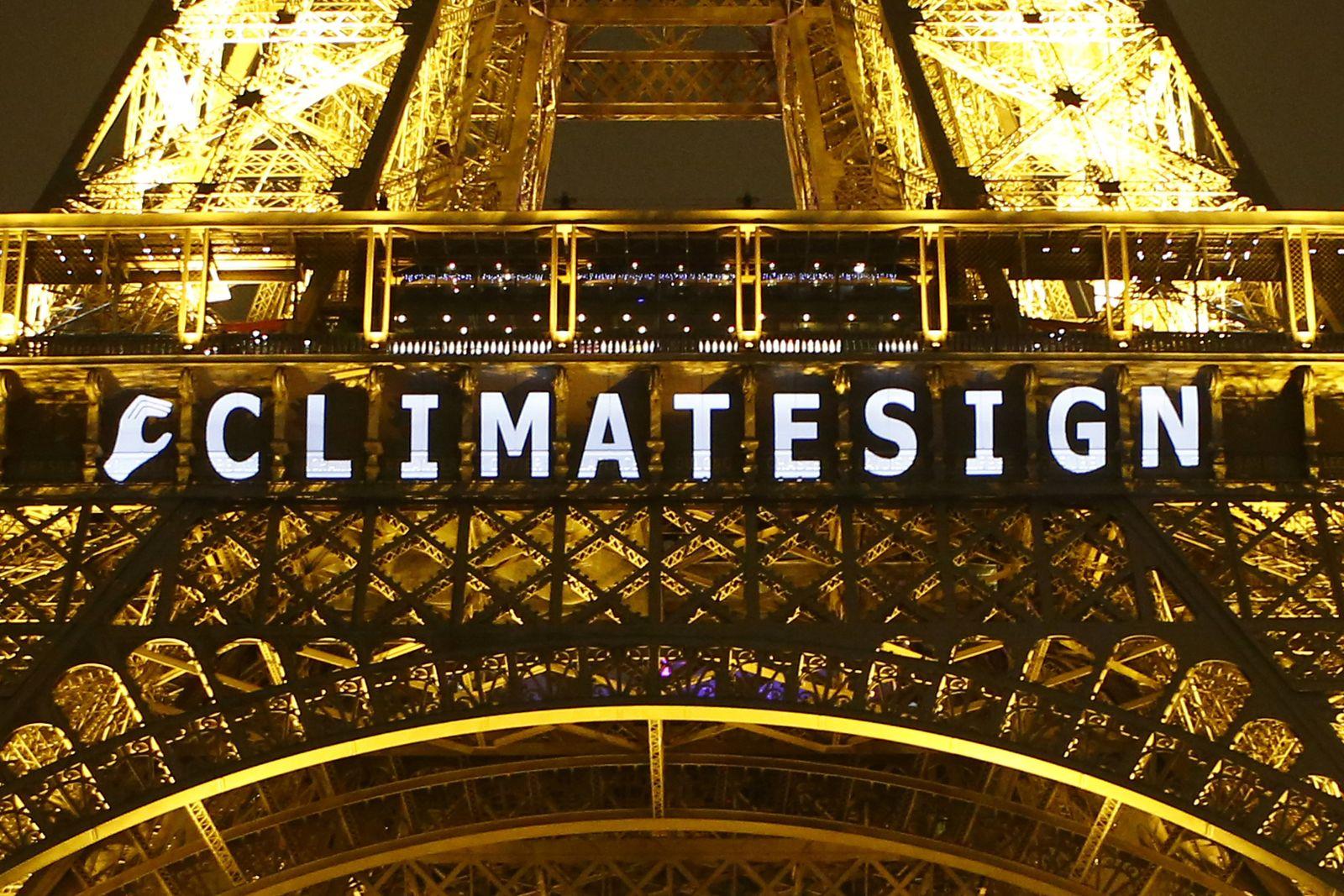 Klima Eiffelturm