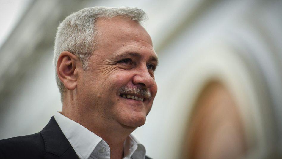 PSD-Parteichef Liviu Dragnea