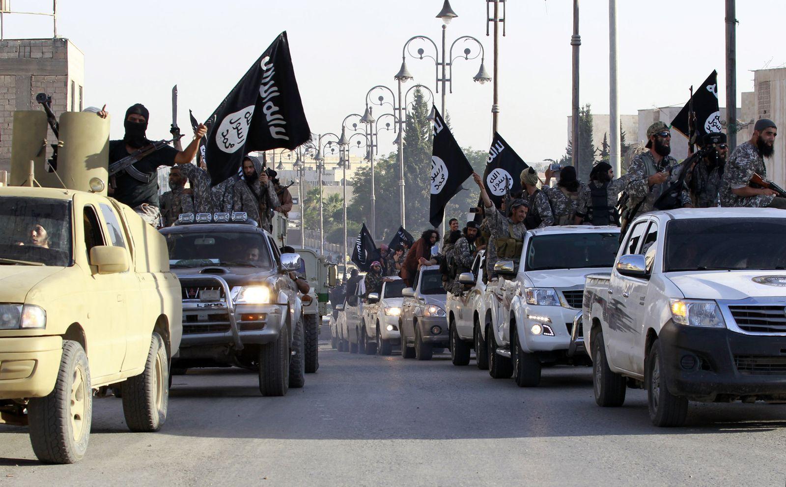 Syrien / islamischer Kämpfer