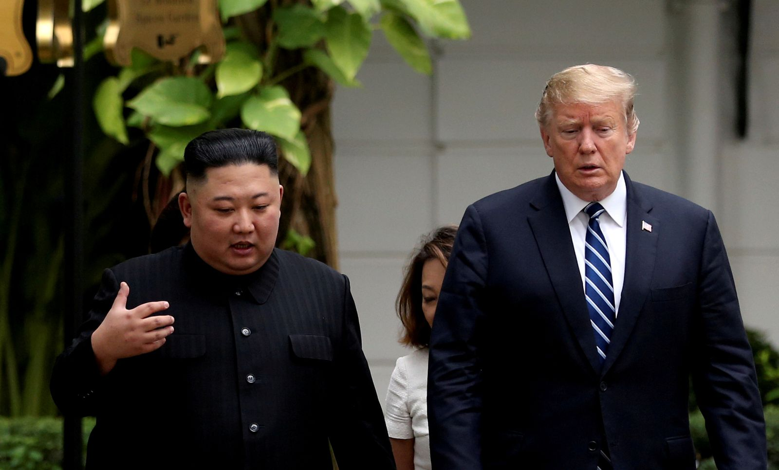 Trump und Kim