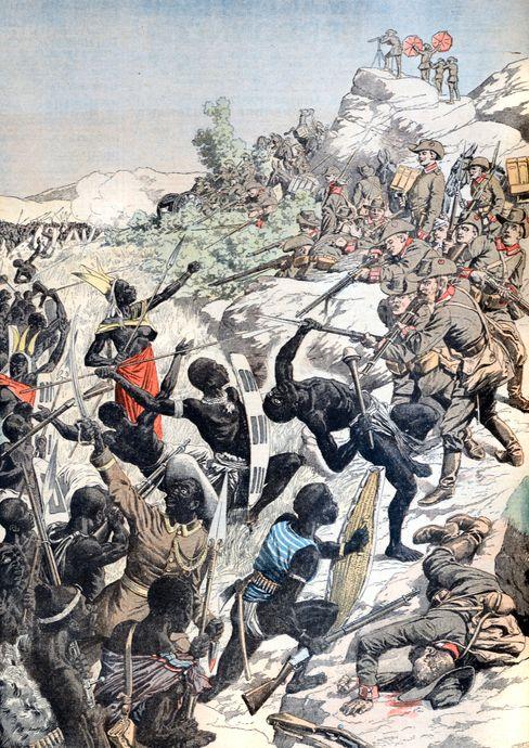 Blutiger Vernichtungskrieg in »Deutsch-Südwestafrika«