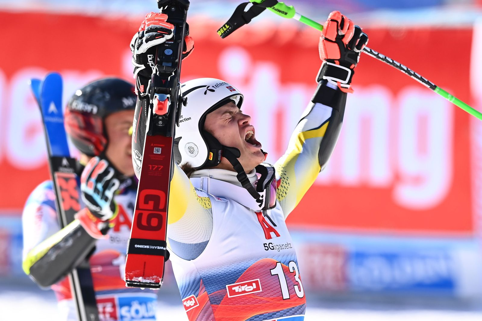 SKI-ALPINE-WORLD-AUT-GIANT SLALOM-MEN