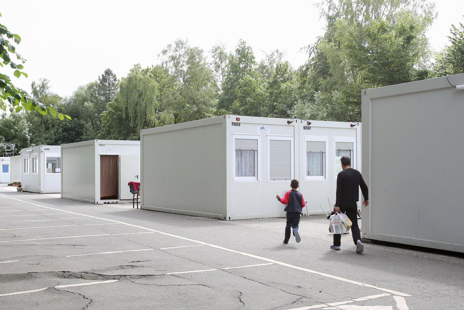 Flüchtlingsunterkunft in Hamburg