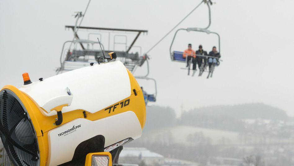 Ein Skilift im sauerländischen Winterberg (Symbolbild)