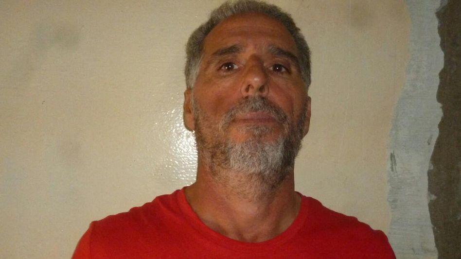 Mafiaboss Rocco Morabito bei seiner Verhaftung in Uruguay im September 2017