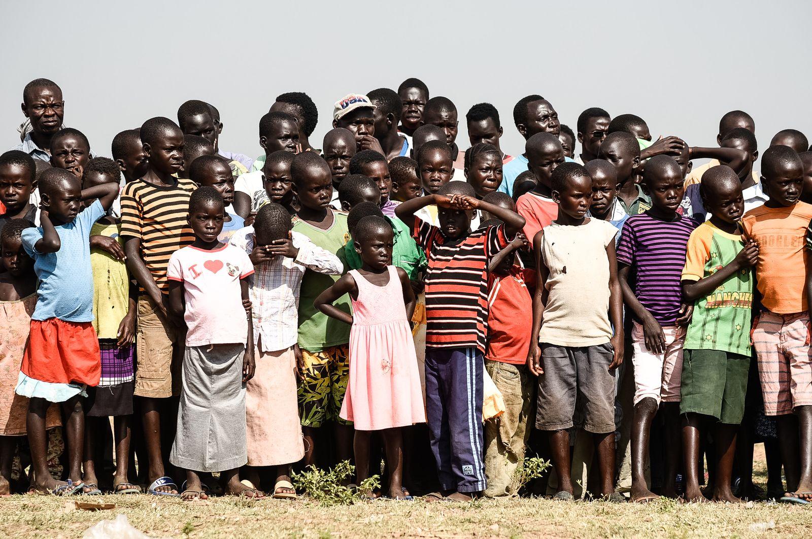 UGANDA-SSUDAN-REFUGEE-BIDIBIDI-SOCIAL-DANCE