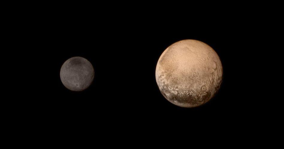 """Nasa-Sonde: """"New Horizons"""" hat Besuch bei Pluto heil überstanden"""