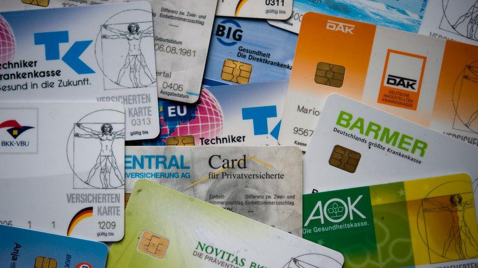 Versichertenkarten: Verwaltung verursacht 23 Prozent der Gesamtkosten