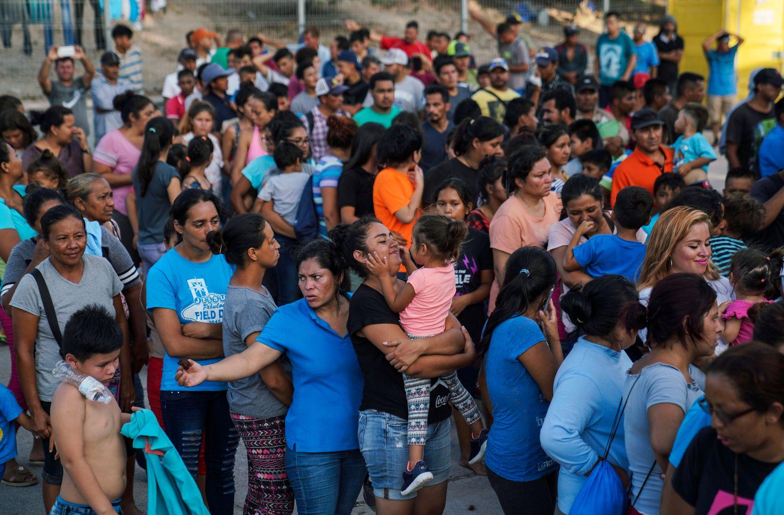 Asylum Waiting in Mexico