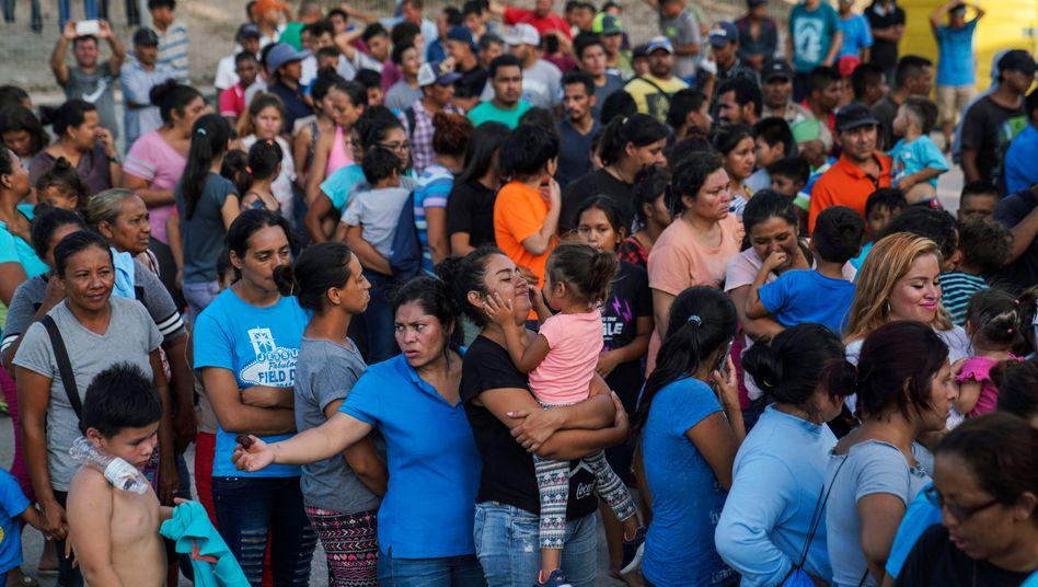 Asylsuchende: »Bleibt in Mexiko« hat ein Ende (Archivbild)