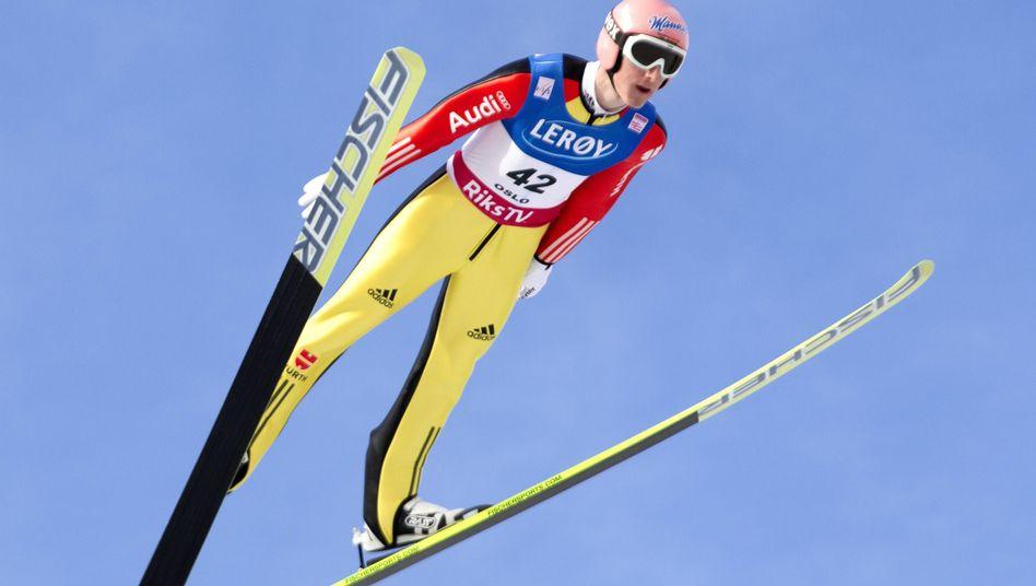 Skispringer Freund (Archivfoto): Weltcupsieg in Lillehammer