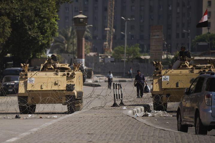 Militär in Kairo: