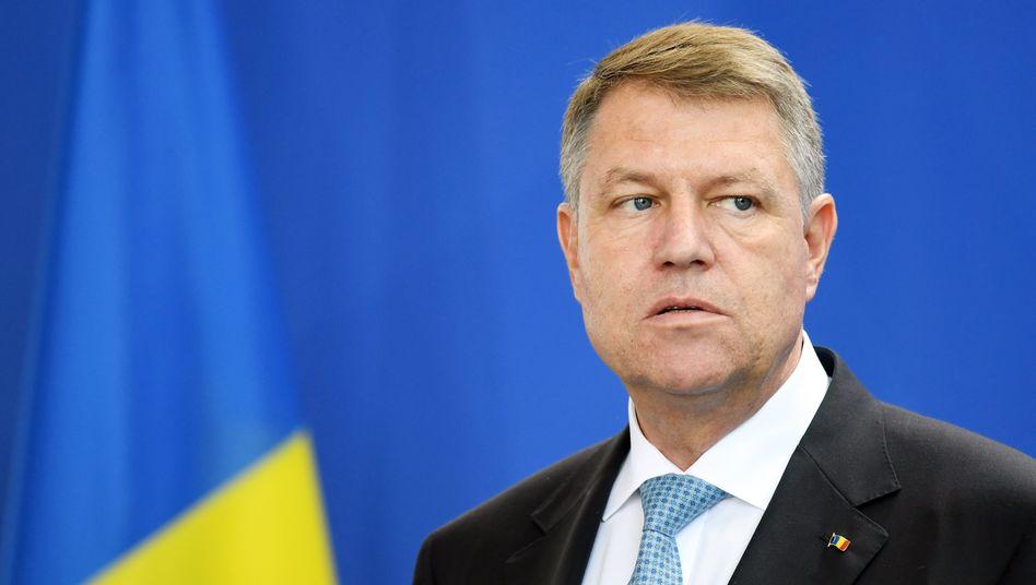 Gilt als besonnen, ist nun als Hetzer aufgefallen: Klaus Johannis, Rumäniens deutschsprachiger Präsident