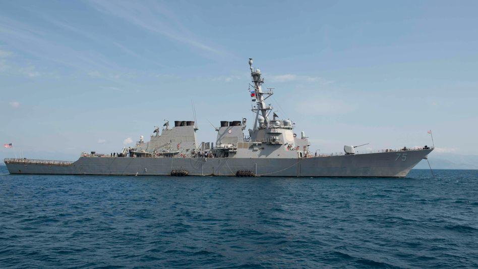 """USS """"Donald Cook"""": Ein Zerstörer in der Arktis (Archivbild)"""