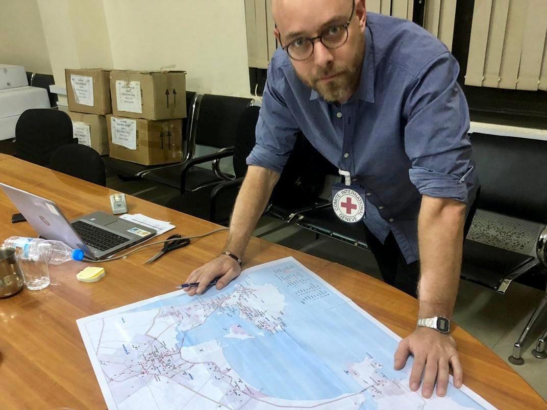 EINMALIGE VERWENDUNG Matthias Kempf, Leiter des Büro des Internationalen Komitees des Roten Kreuzes (IKRK) in Aden