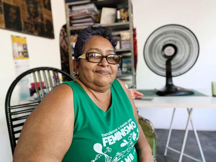 Musas-Chefin Floresmar Ferreira warnt vor Waffenwahn