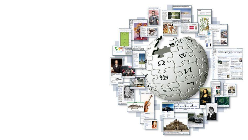 Wikipedia-Logo: Eine US-Stiftung finanziert die Server aus Spendeneinnahmen