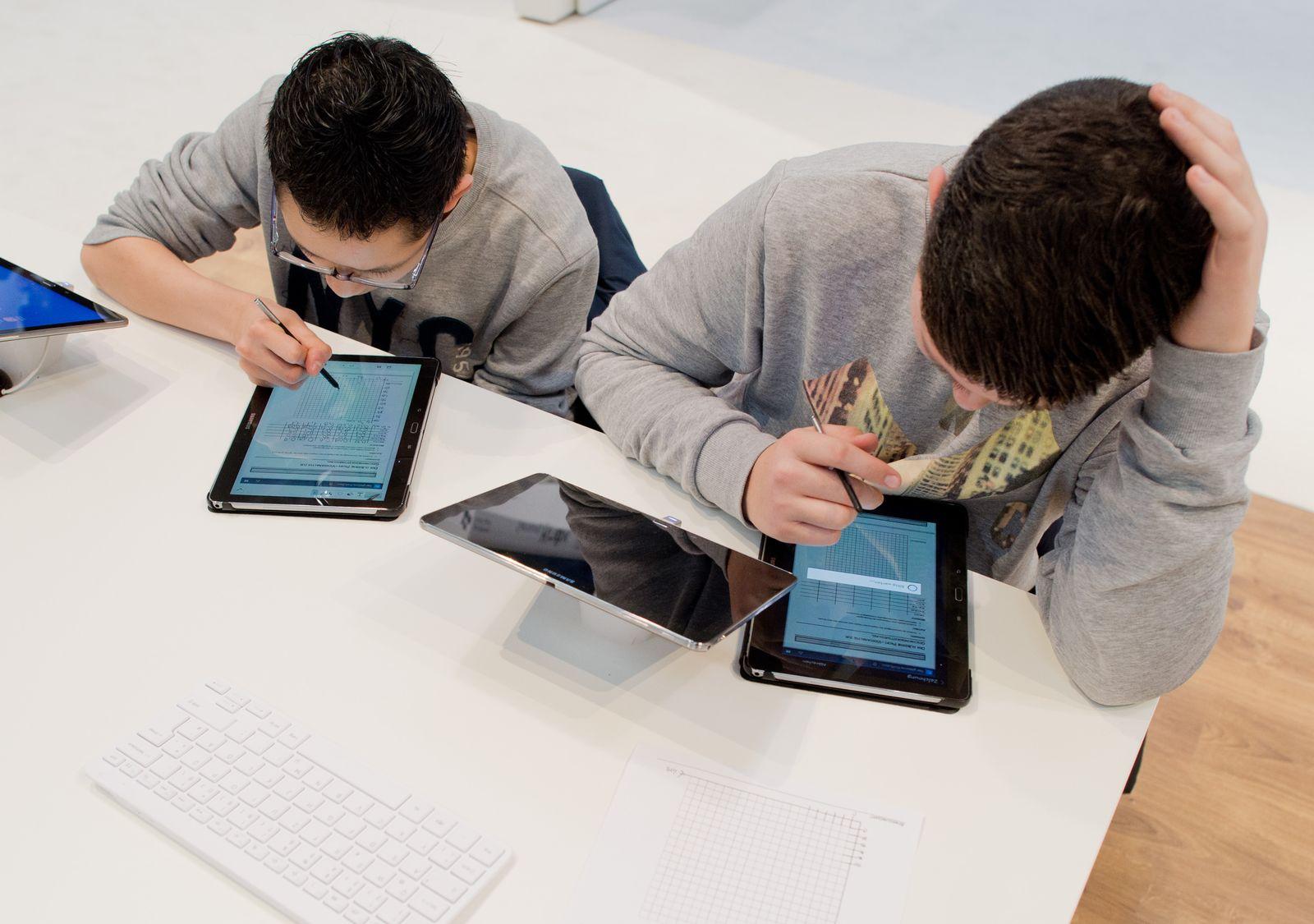 Schüler Tablet