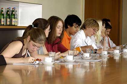 Schüler an der Law-School: Studieren vorm Studium