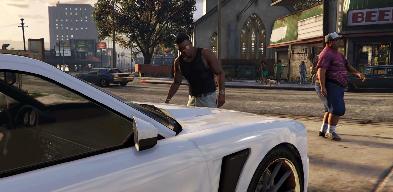 Screenshot von GTA V