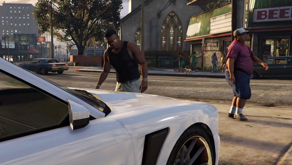 """Die """"Grand Theft Auto""""-Serie ist seit 1997 auf dem Markt"""