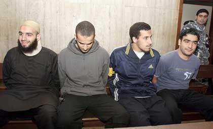 Dschihad Hamad vor Gericht in Beirut (im April 2007): Keine Libanon-Reise der deutschen Richter und Anwälte