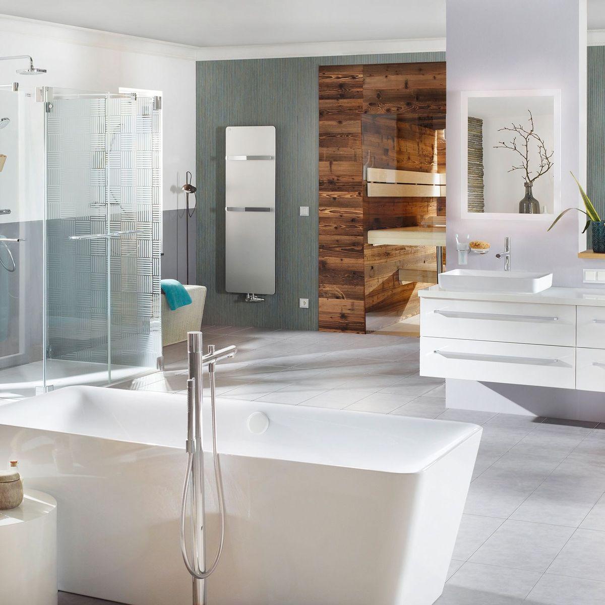 Frei stehende Badewanne: Sogar im kleinen Bad möglich - DER SPIEGEL