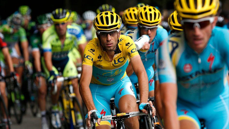 Teilnehmer der Tour de France: Dieses Jahr wieder in der ARD zu sehen