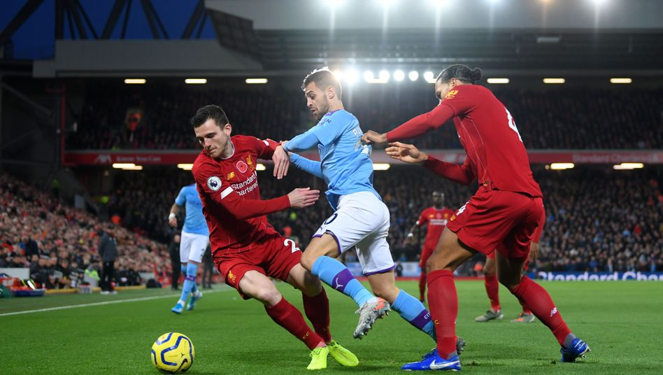 Liverpool führte bereits früh gegen City