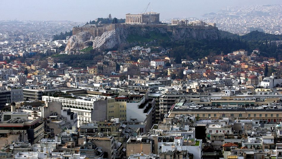 Athens and the Acropolis: If Greece goes bankrupt, market fears will likely be exascerbated.