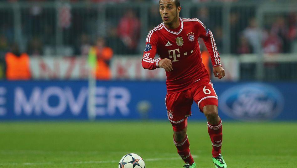 Bayern-Profi Thiago (Archivbild): Comeback noch im Oktober?