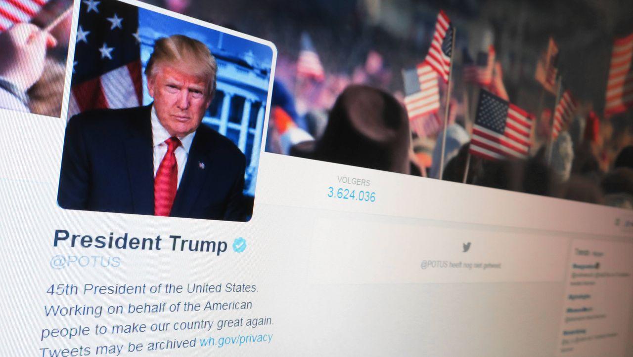 Donald Trump soll offiziellen Präsidenten-Account bei Twitter verlieren - DER SPIEGEL - Netzwelt