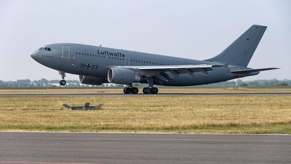 Truppentransporter Airbus A310 der Bundeswehr (Archivbild)