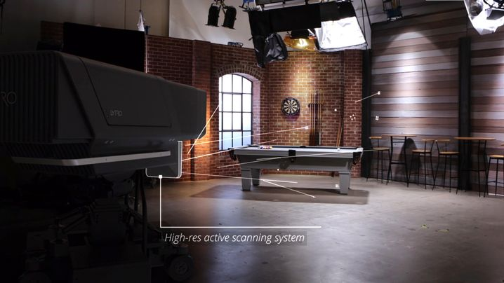 Die Kamera zeichnet bis zu 400 GB pro Sekunde auf