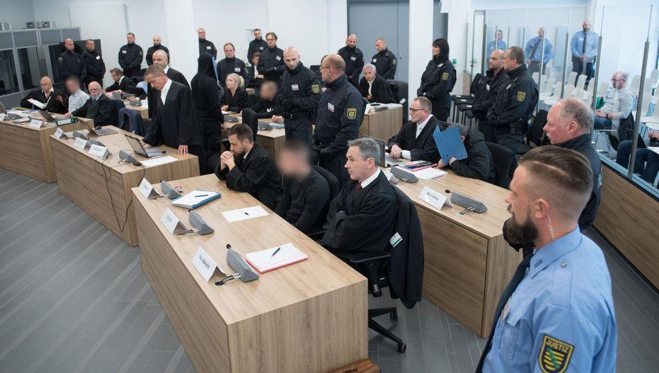 """Prozess gegen """"Revolution Chemnitz"""" (Archivbild)"""