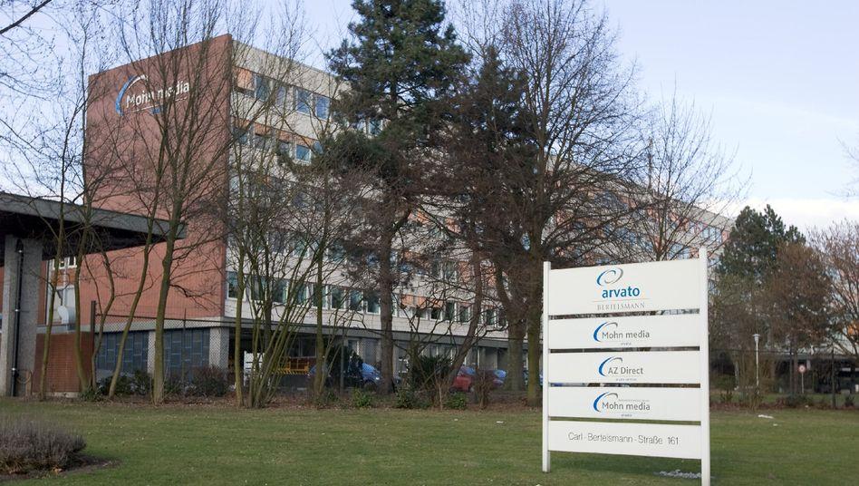 Bertelsmann-Zentrale in Gütersloh: Nach dem Krieg fing Mohn mit etwa 100 Mitarbeitern an - heute sind es weltweit mehr als 100.000