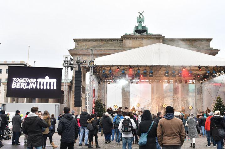 Gedenkveranstaltung am Brandenburger Tor