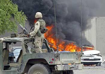 Bombenanschlag in Bagdad: Zermürbende Guerilla-Taktik