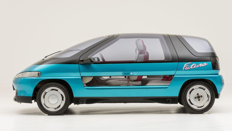 Flügeltürer für die Familie: Der Futura war eines der auffälligsten VW-Konzeptfahrzeuge