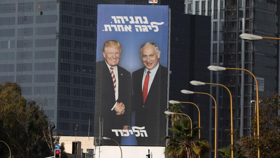 Wahlplakat der Likud-Partei