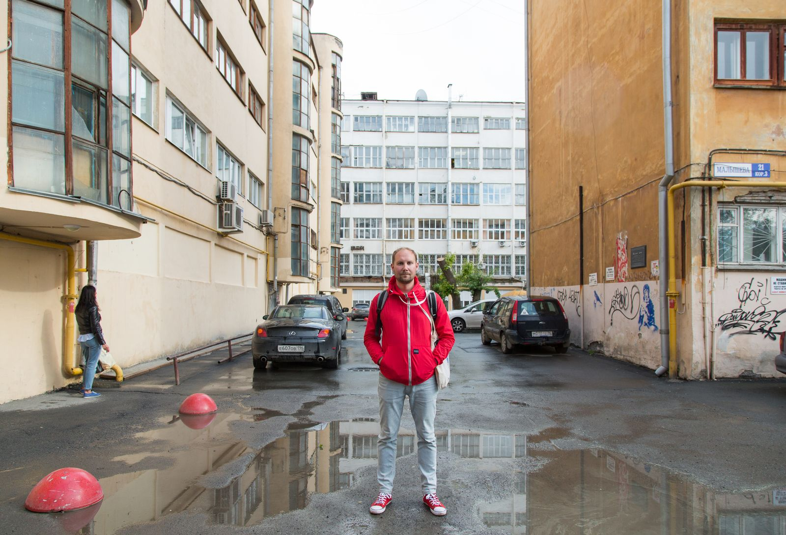 EINMALIGE VERWENDUNG WM18/ Portraits/ Dima/ Architekt