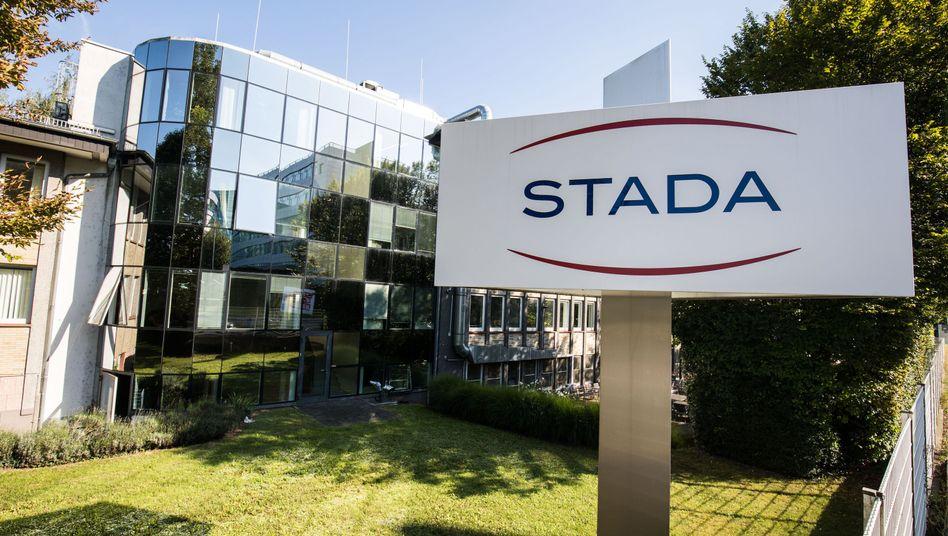 Firmenlogo des Pharmakonzerns Stada