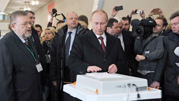 Präsidentschaftswahl in Russland: Putin lässt sich feiern