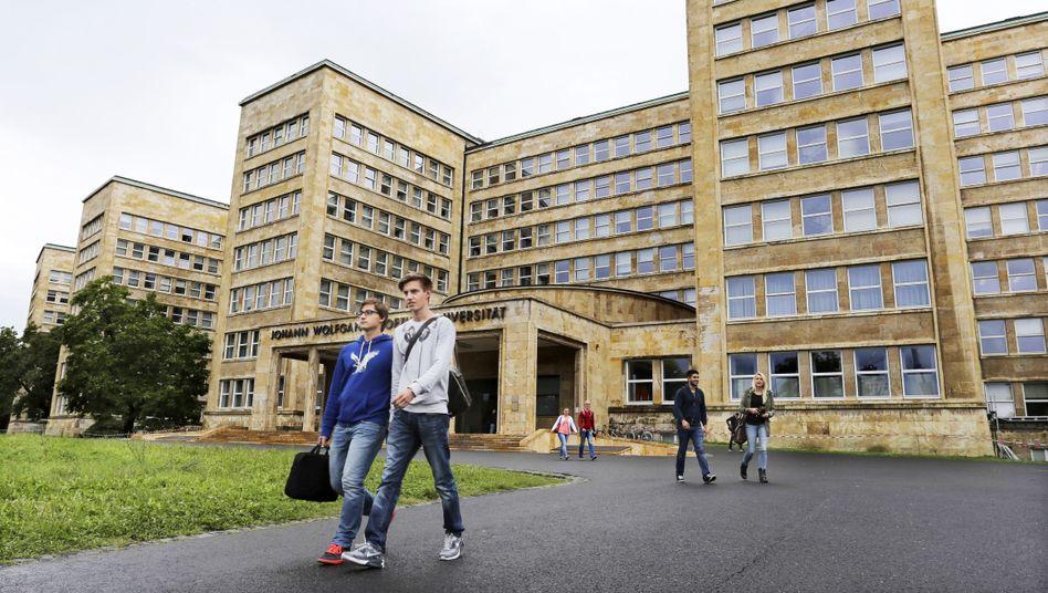 Wer darf da rein? Hauptgebäude der Goethe-Universität in Frankfurt am Main (Symbolfoto)