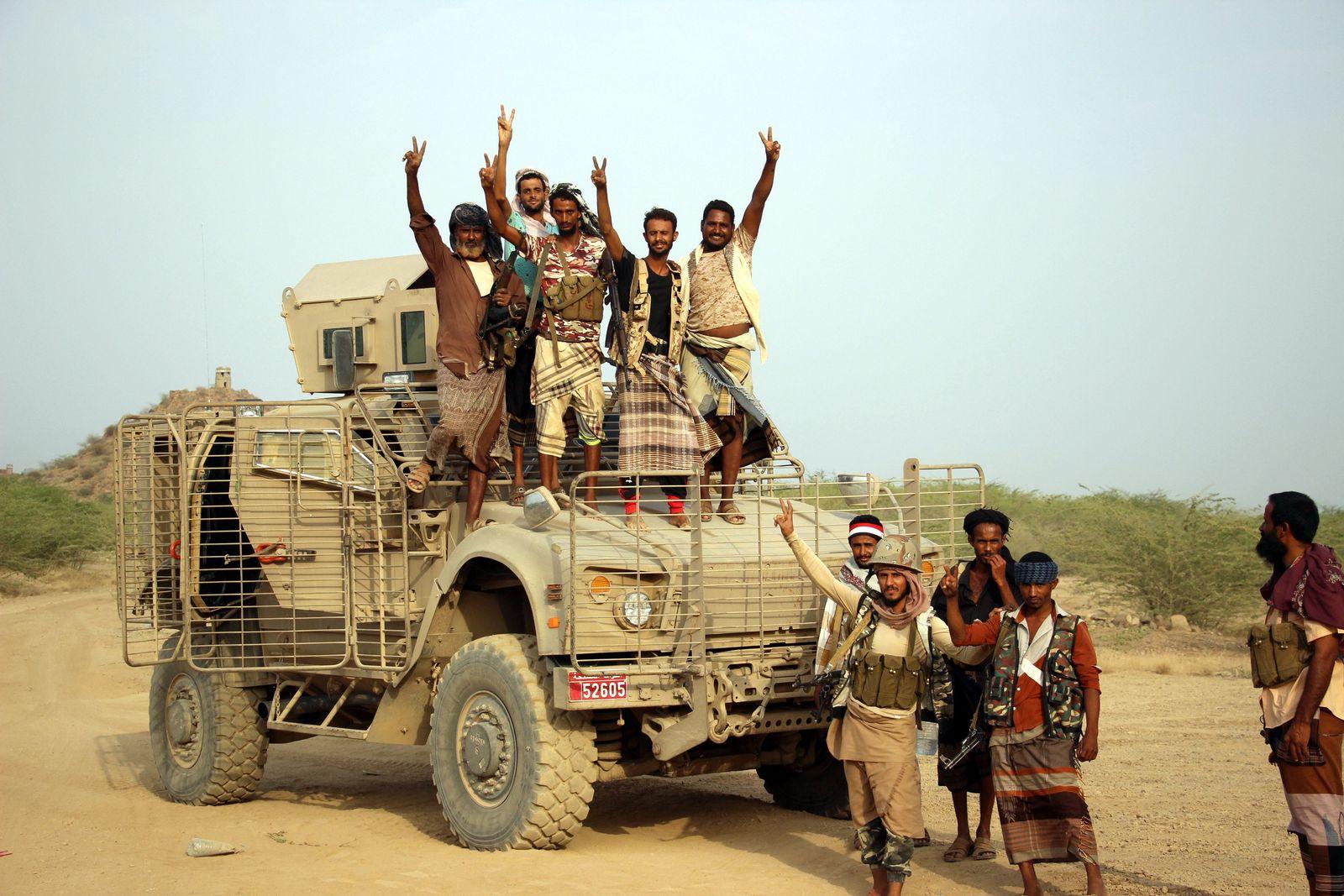 MRAP/Jemen