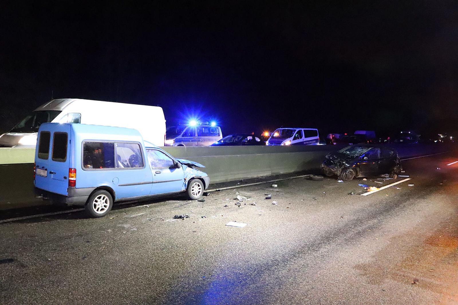 Tödlicher Unfall auf A535