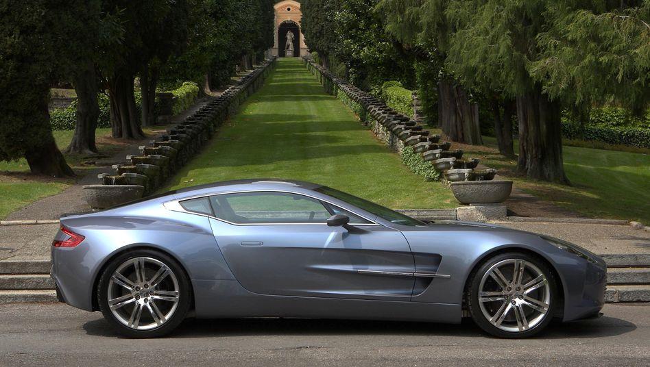 Italiener Steigen Beim Britischen Sportwagenbauer Aston Martin Ein Der Spiegel